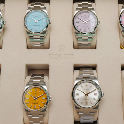 AAA Rolex Updated New Oyster Perpetual 41 124300 Replica Watches
