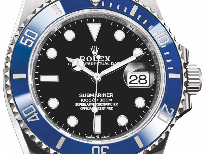 Luxury Rolex Released New Submariner Ref. 126619LB Replica Watch In White Gold With Blue Bezel